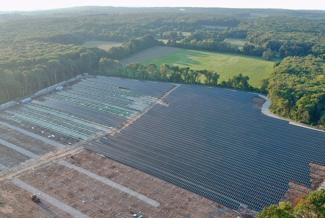 Conti Solar, a leading national EPC firm, is constructing the largest solar project in Rhode Island, 21.3 MW Gold Medal Farms for Southern Sky Renewable Energy.