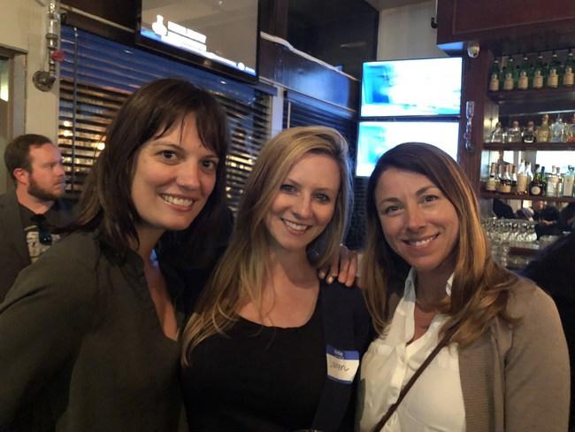 Terra Carver, HCGA (left), Lauren Fraser, CDA (middle), Natalynne DeLapp, HCGA (right)