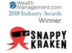 Snappy Kraken Named WealthManagement.com 2018 Industry Awards Winner