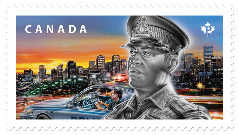 Emergency responders (CNW Group/Canada Post)