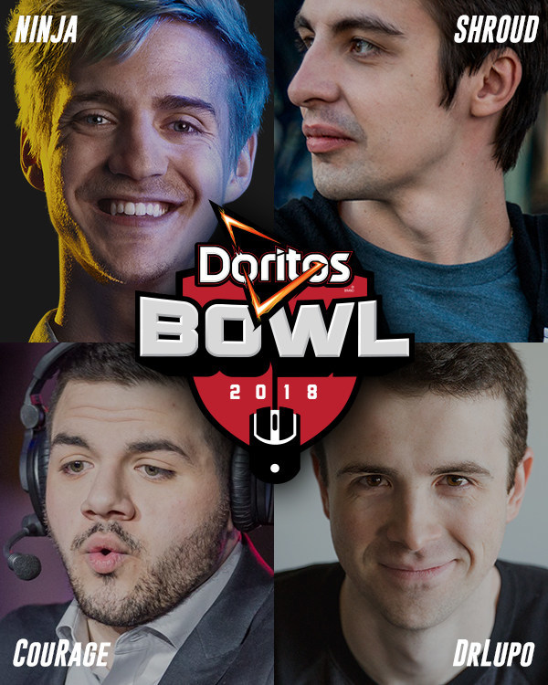 DORITOS AND TWITCH JOIN FORCES TO HOST THE BOLDEST GAMING EVENT EVER: DORITOS BOWL AT TWITCHCON 2018