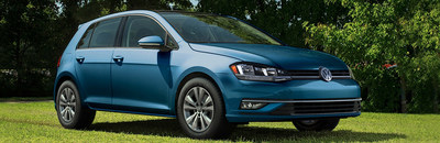 The 2018 Volkswagen Golf received an updated exterior design for the 2018 model year. (PRNewsfoto/Puente Hills Volkswagen)