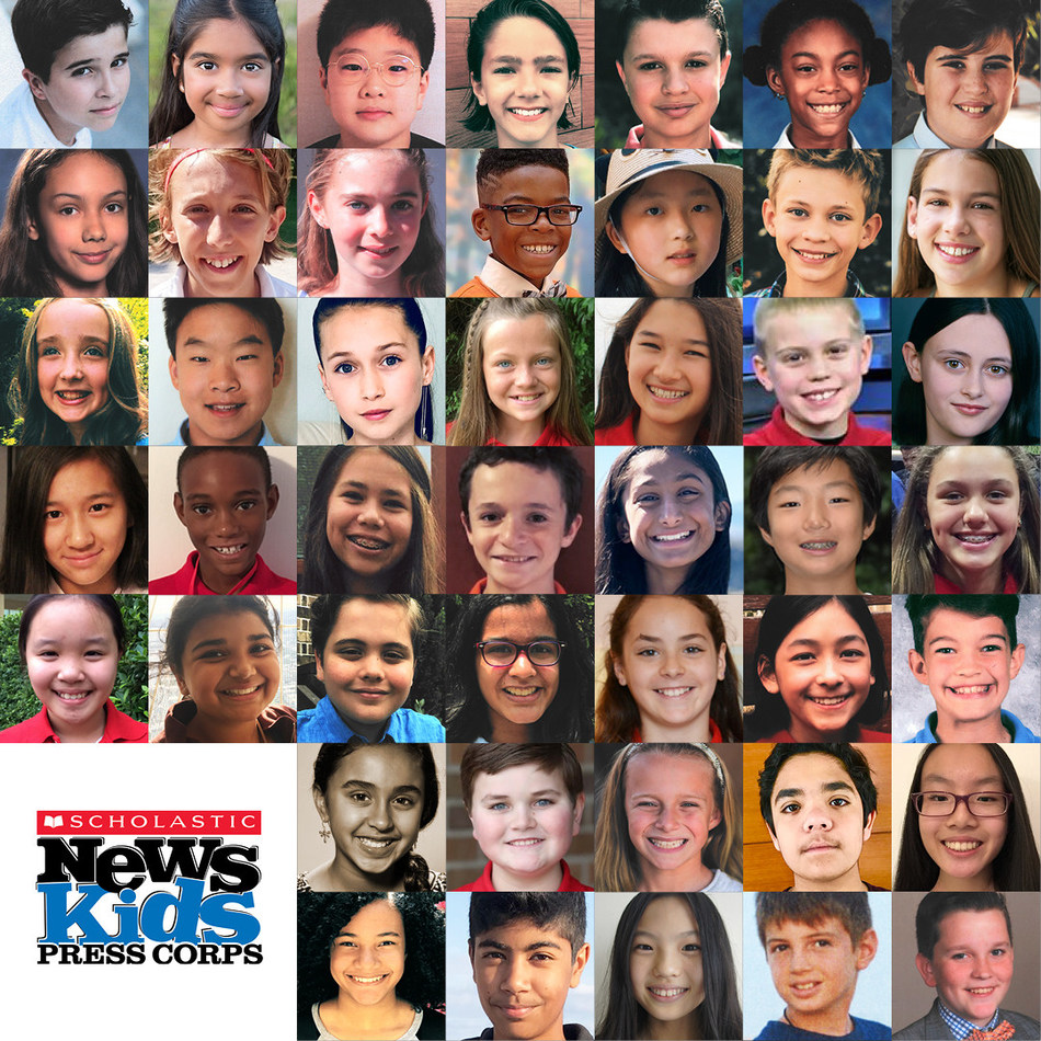 45 Kid Reporters Join the 2018-19 Scholastic News Kids Press