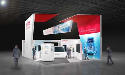 DENSO booth