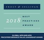 2018 Global NPM and APM Price/Performance Value Leadership Award