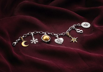 Give love at Christmas: The exclusive Generation Charm Club bracelet from THOMAS SABO impresses with a dreamlike combination of detailed charms that awaken the passion for collecting. (PRNewsfoto/THOMAS SABO GmbH)
