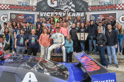 Victory Lane: Tomy Drissi / Burtin Racing 'The Predator' Chevrolet Camaro