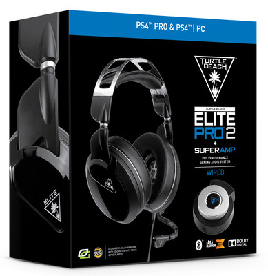 The Turtle Beach Elite Pro 2 + SuperAmp now available for PS4. Take your gaming to the elite level.