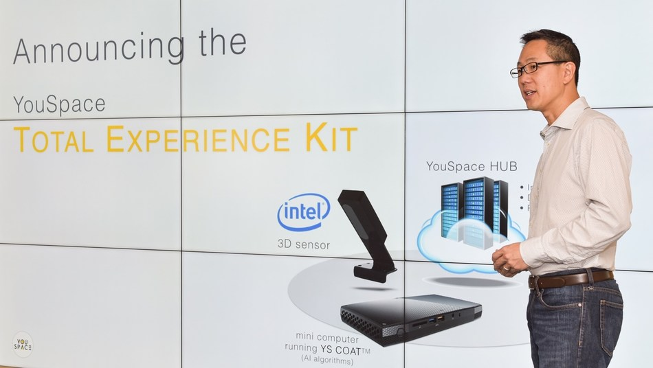 SVP of Product Jonathan Li is talking about Total Experience Kit (TEK).