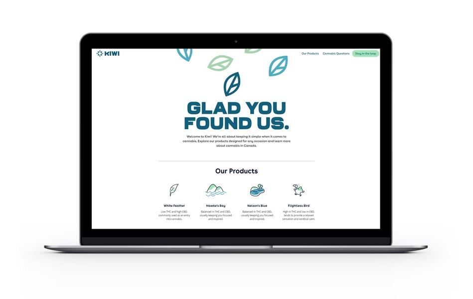 Kiwi Website (CNW Group/Maricann Group Inc.)