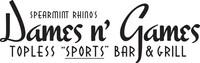 Spearmint Rhino's Dames N' Games logo