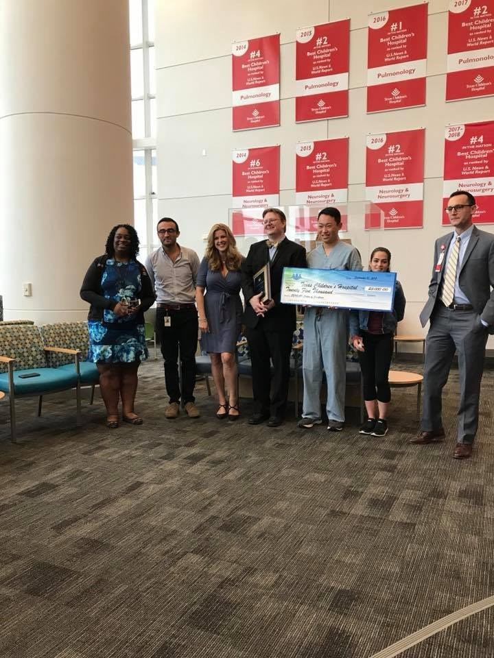 Bridge the Gap - SYNGAP Education and Research Foundation awards first research grant of $25,000 to Texas Children's Hospital SYNGAP1 Center of Excellence