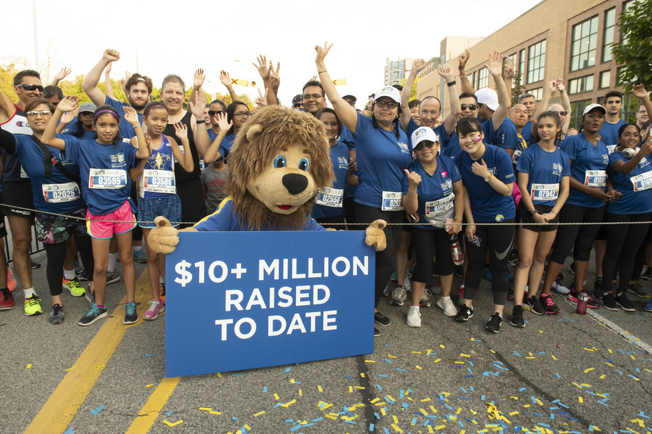 Torontonians hit the pavement earlier today in support of youth mental health at Sunnybrook in the sixth annual RBC Race for the Kids. (CNW Group/Sunnybrook Health Sciences Centre)