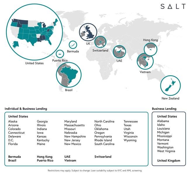 (PRNewsfoto/SALT Lending Holdings, Inc.)