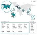 SALT anuncia maior expansão de sua história; agora em 80 por cento dos EUA, totalizando 10 territórios internacionais