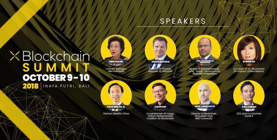 Leaders in tech, government and business are gathering in Bali for XBlockchain summit held in parallel to the 2018 annual meetings of the IMF and World Bank Group.