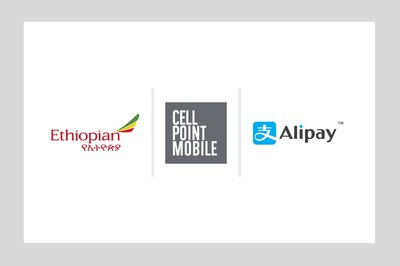 Ethiopian Airlines App Adds Alipay Through CellPoint Mobile Payment Platform