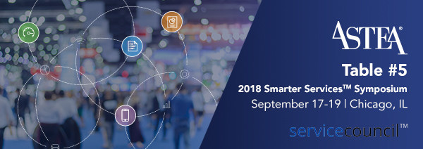 Join Astea at the Smarter Services Symposium to learn how the newest version of our field service management software helps you grow service revenue.