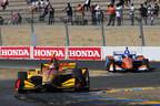 Hunter-Reay Takes Sonoma Win; Dixon, Honda Claim Indy Car Titles