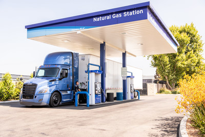 SoCalGas will soon begin using renewable natural gas for the first time at its natural gas vehicle fueling stations. When the latest generation of ultra-low emissions natural gas trucks are fueled with renewable natural gas, greenhouse gas emissions are reduced by at least 80 percent.