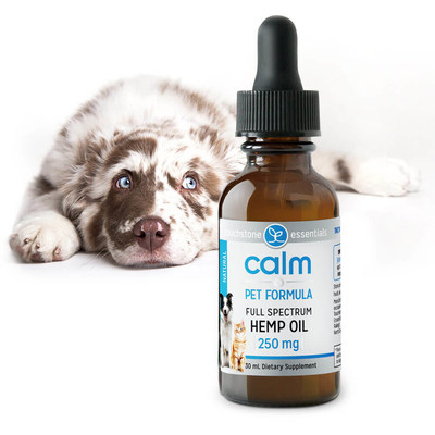 Touchstone Essentials Launches Organically Grown Full Spectrum CBD-Rich Hemp Oil for Dogs and Cats