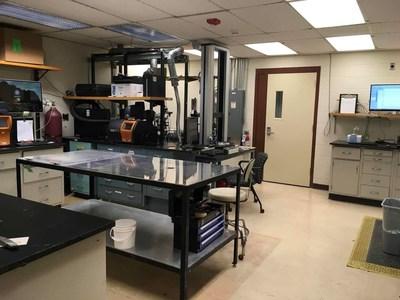 Corner of the laboratory