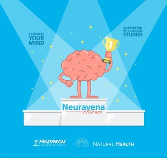 Neuravena® recognized as market leader in cognitive health (PRNewsfoto/Frutarom Health Ltd.)