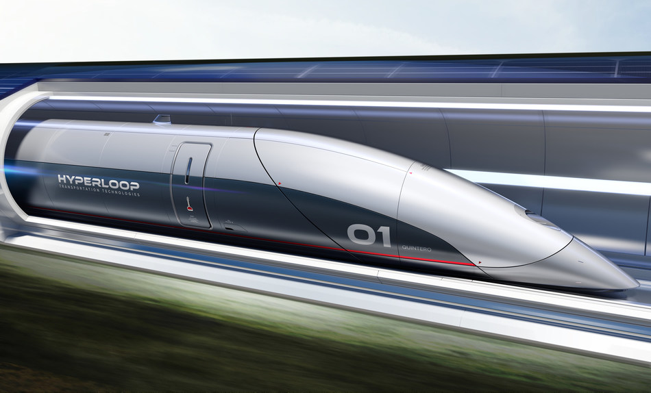 HyperloopTT Passenger Capsule (PRNewsfoto/Hyperloop Transportation ...)