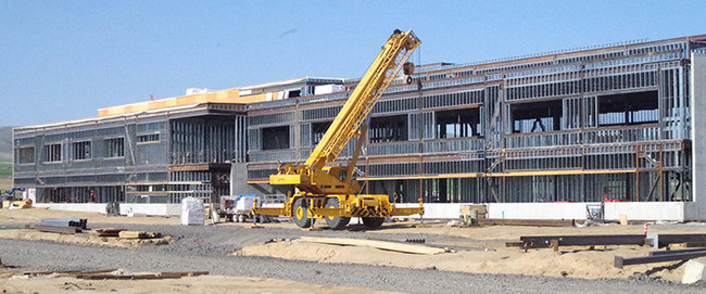 Quincy WA New High School Construction