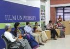 Panelists on the Dias: Dr. Anjana Sen, Ms. Rashmi Malik, Mr. Nishchint Chawla, Dr. Aruna Broota, Dr. Shahnawaz, Dr. Shuchi Agarwal, Prof. Harman Mangat (L to R) (PRNewsfoto/IILM University)