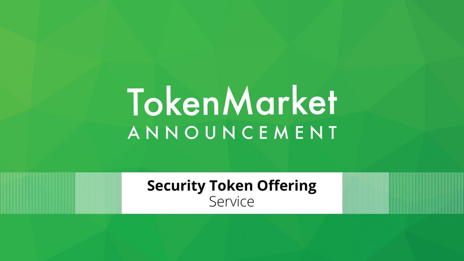 TokenMarket announces the opening of its new security token offering service