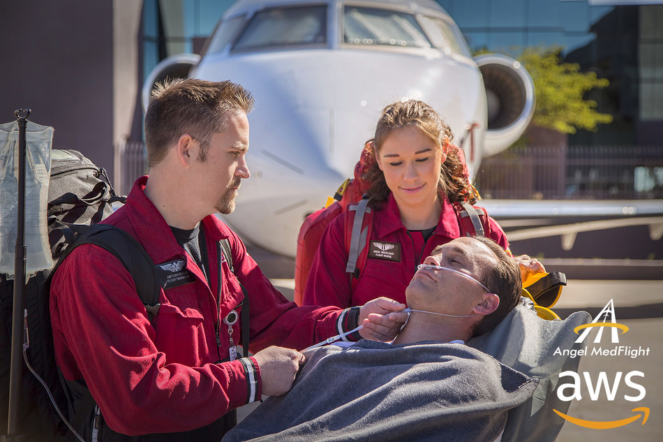 Angel MedFlight incorporates advanced technology to enhance patient care and safety. As a leader in air medical transportation, Angel MedFlight is proud to partner with Amazon Web Services on its custom iPad medical charting application, MedLog2.