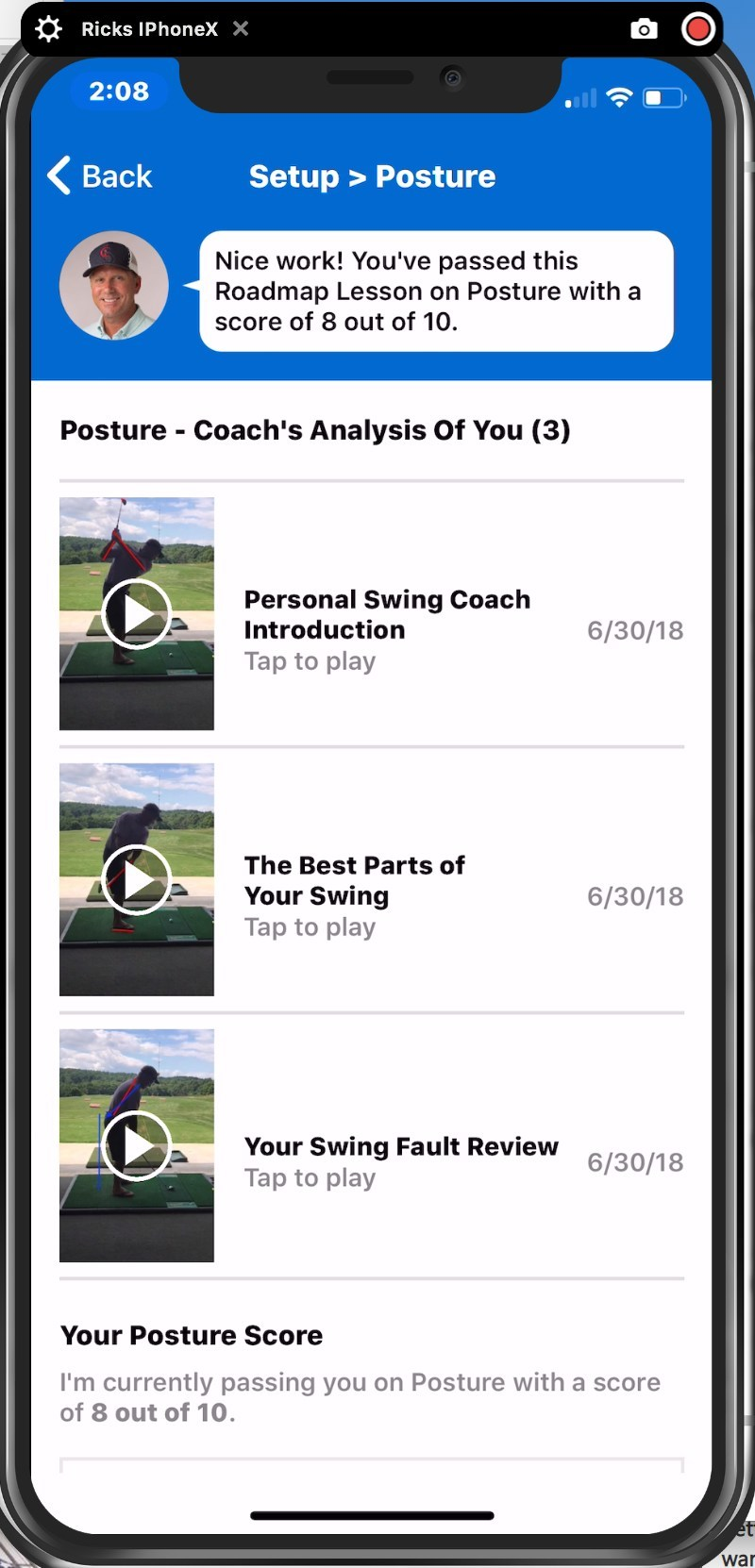GOLF.com's innovative new Play With The Pros instruction platform enables golfers to immediately connect with a world-class golf teacher to personally analyze a student's golf swing and provide two-way golf instruction anytime, anywhere. (PRNewsfoto/GOLF.com)