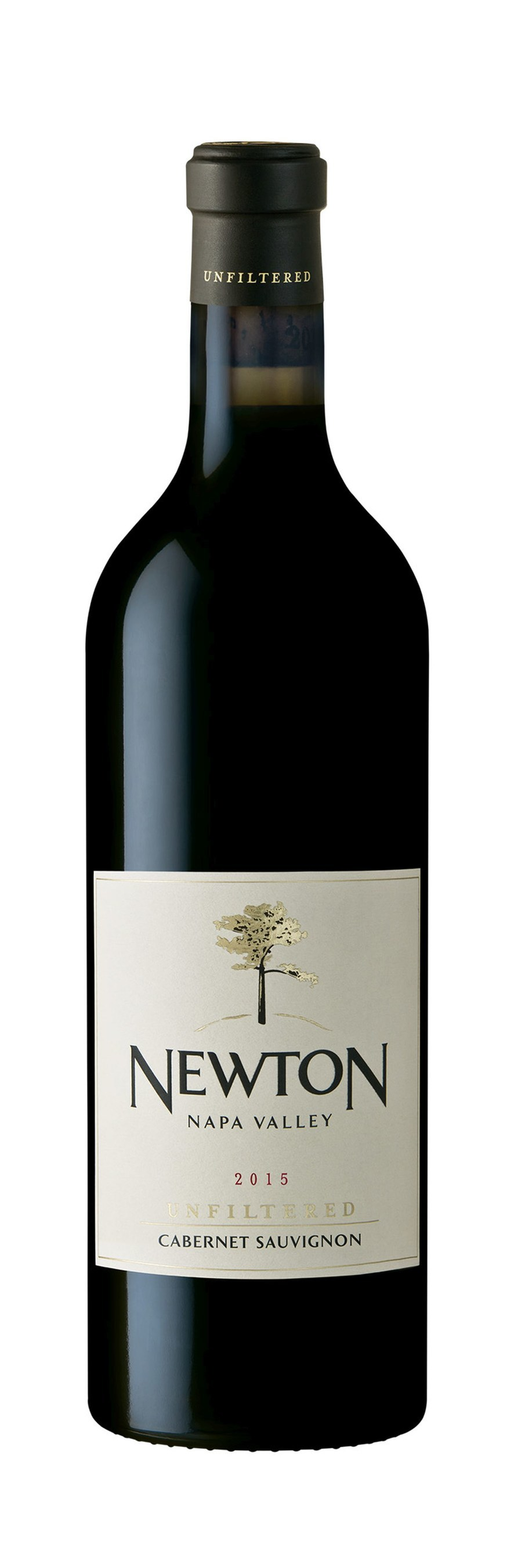 Newton Unfiltered Cabernet 2015 (PRNewsfoto/NEWTON VINEYARD)
