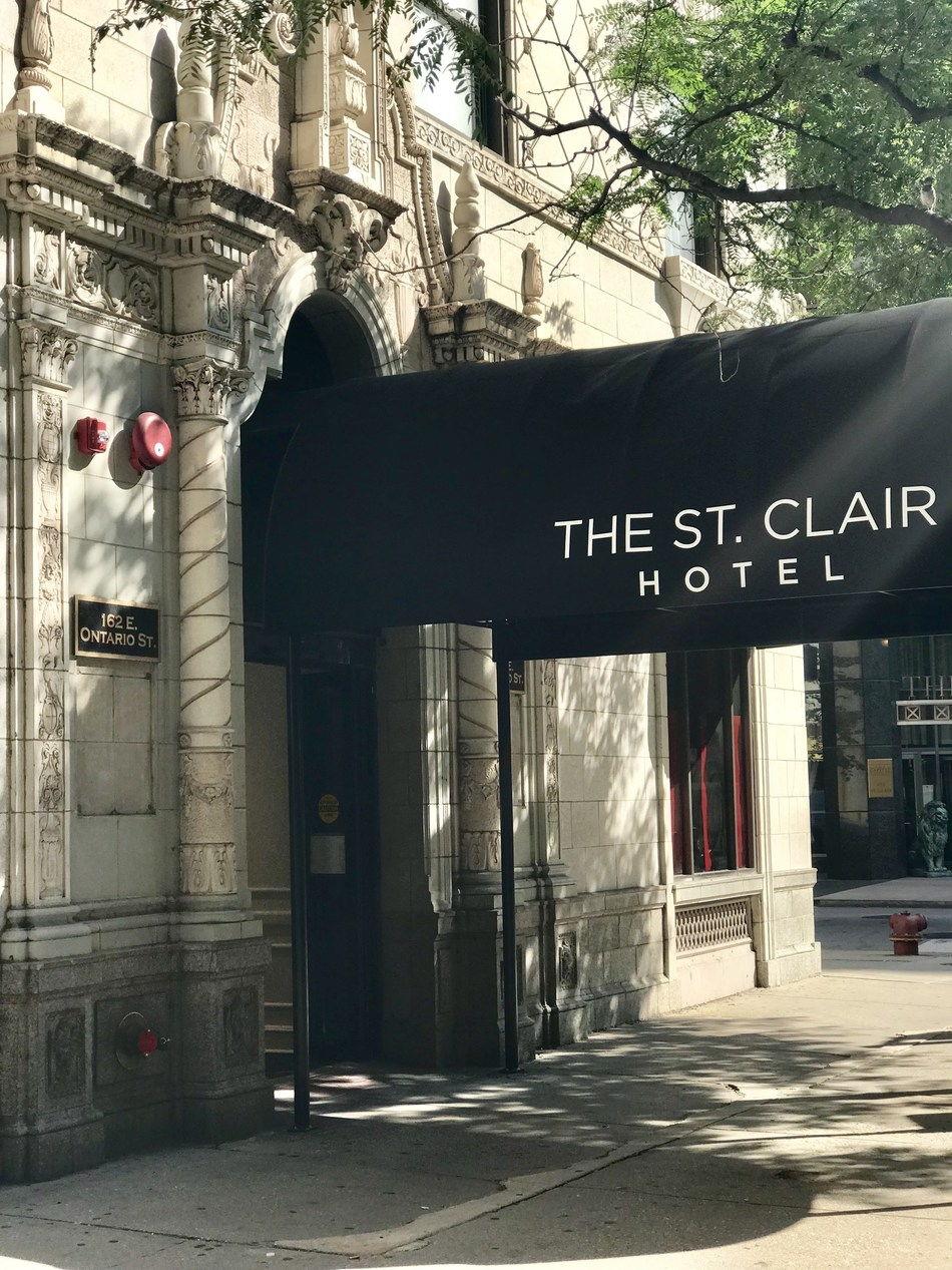 The St. Clair Hotel™, the first property in The Red Collection™, Red Roof®'s first soft-brand, will open in downtown Chicago at 162 E. Ontario Street, just one block from the Magnificent Mile, a premiere destination for shopping and dining.