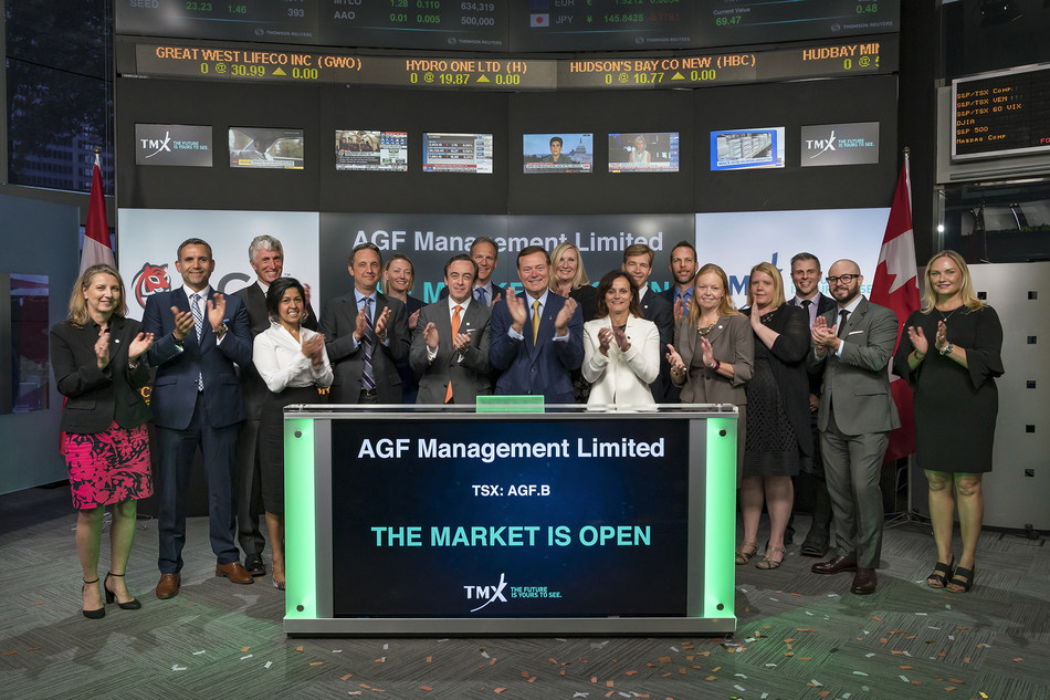 AGF Management Limited Opens the Market (CNW Group/TMX Group Limited)