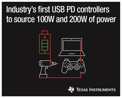 TI controllers enable higher power in dual- and single-port applications