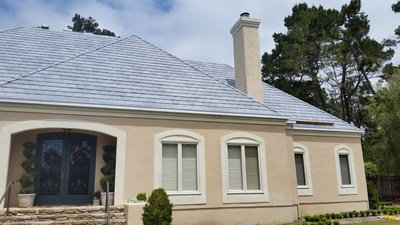 Cool Roof composite roofing tiles from DaVinci Roofscapes can help reduce the temperature of the roof surface, resulting in lower attic temperatures and lower energy bills.
