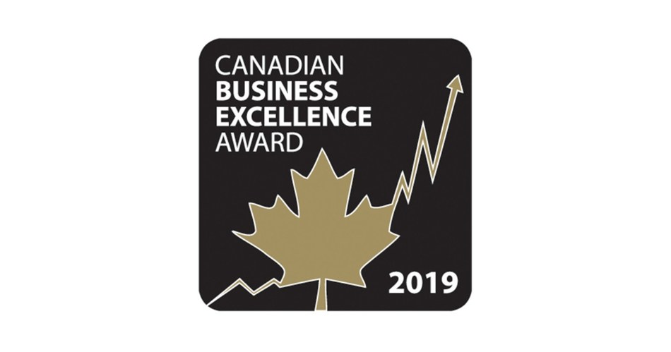 Canadian Business Excellence Award (CNW Group/Sourced Group)