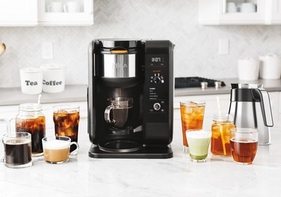 Bring 10-minute* cold brew and an entire menu of coffee and tea options to your countertop. *Brew times vary from approximately 10–15 minutes depending on cup size.