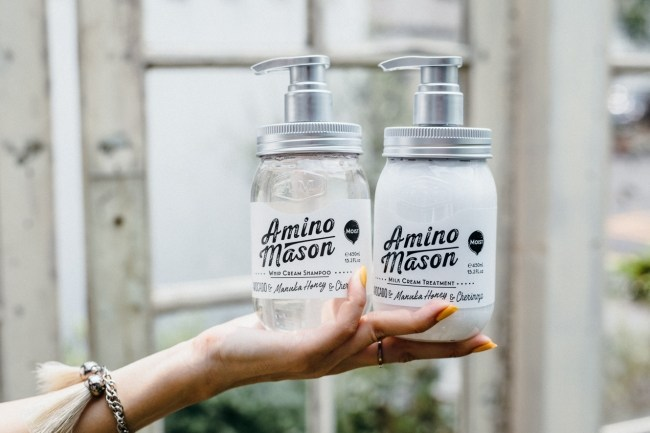 Amino Mason products are free of hair-damaging sulfur and mineral oils.