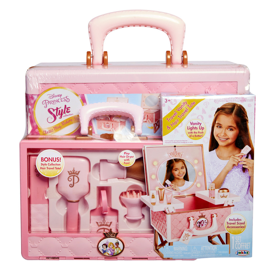 BJ's Wholesale Club announces its 2018 Top 10 Toys, including the Disney My Style Collection Vanity with Bonus Hair Travel Tote.