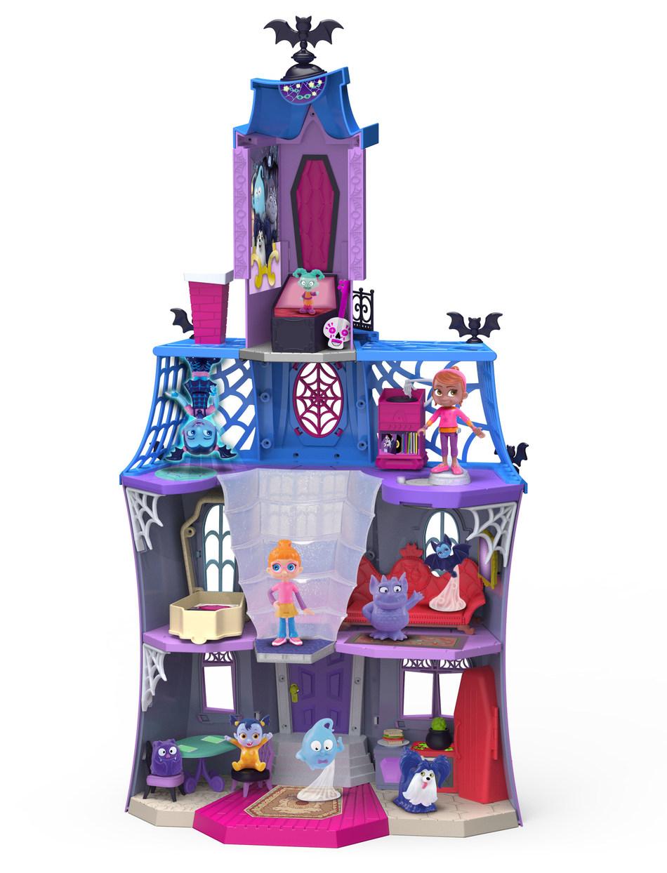 BJ's Wholesale Club announces its 2018 Top 10 Toys, including the Disney Vampirina Scare B&B Playset with Poppy and Vampirina Figures.
