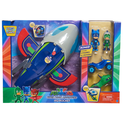 BJ's Wholesale Club announces its 2018 Top 10 Toys, including the PJ Masks Super Moon Adventure HQ Rocket with Bonus Figures and Rovers.