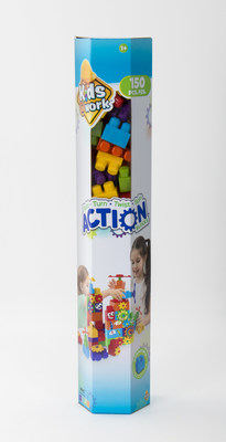 BJ's Wholesale Club announces its 2018 Top 10 Toys, including the Crayola 150-Pc. Action Building Blocks Set by Kids at Work.