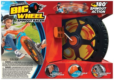 BJ's Wholesale Club announces its 2018 Top 10 Toys, including The Original Big Wheel Spinout Racer.