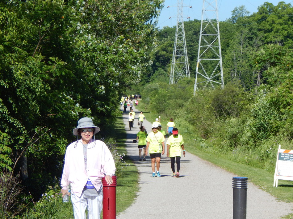 ITC has partnered with urban communities to develop recreational trails in its transmission corridors.