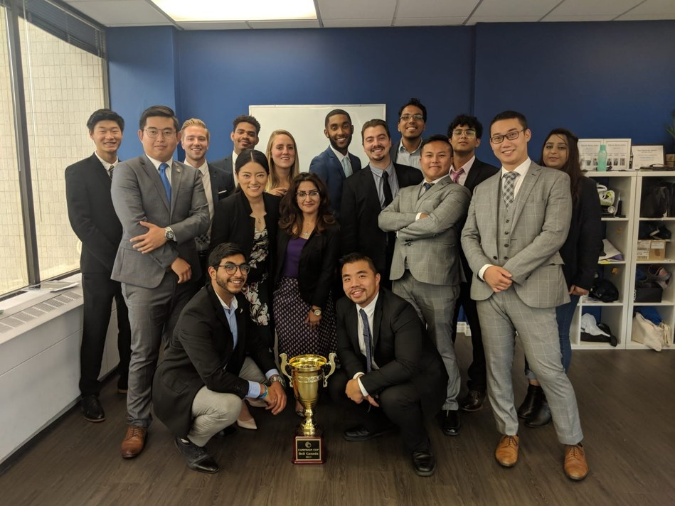 OVIO Business Solutions honored with Q2 Campaign Cup trophy.