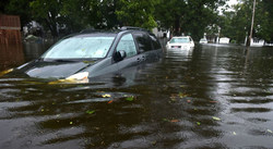 Cars Flooded By Hurricane Florence (PRNewsfoto/Compare-autoinsurance.org)