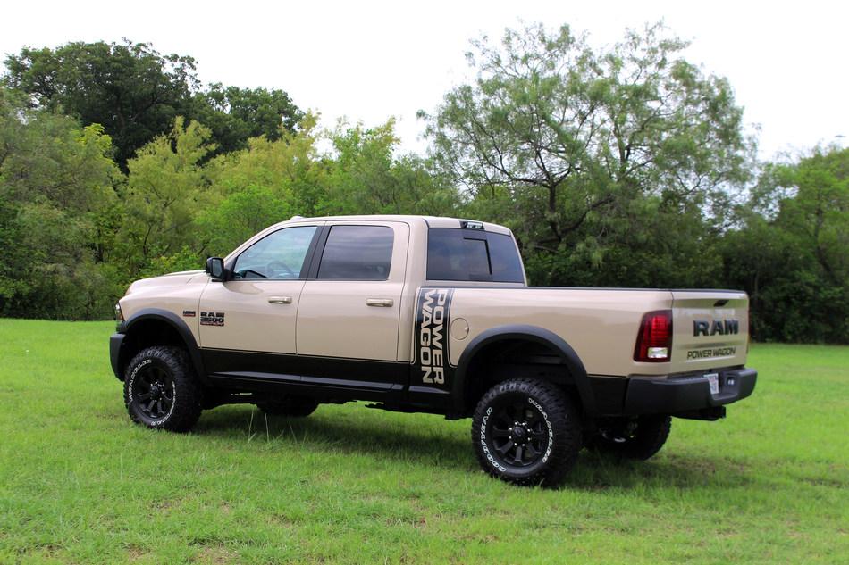 2018 Ram 2500 Power Wagon Mojave Sand Edition